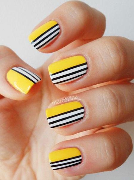 Nail Nails Stripes Designs