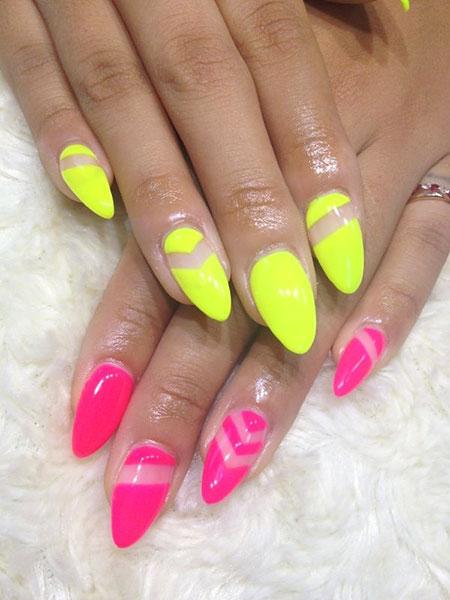 Nail Neon Nails But