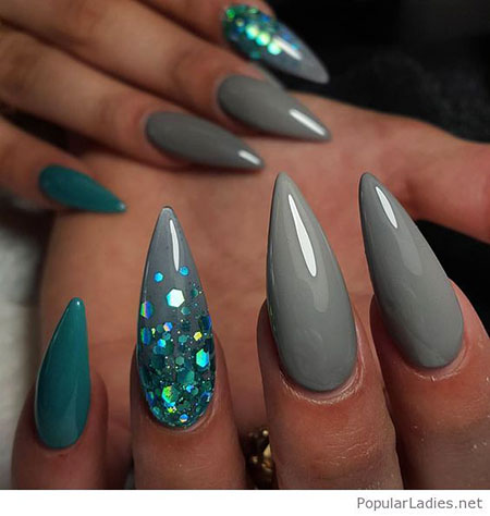 Nails Stiletto Nail Designs