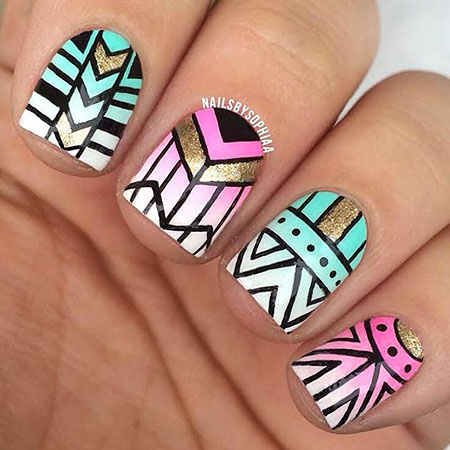 Tribal Nail Nails Designs