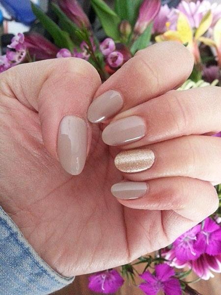 Nail Nails Oval Shapes