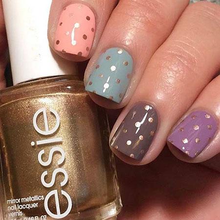 Cute Polka Dot Nails, Polka Nail Dot Dots