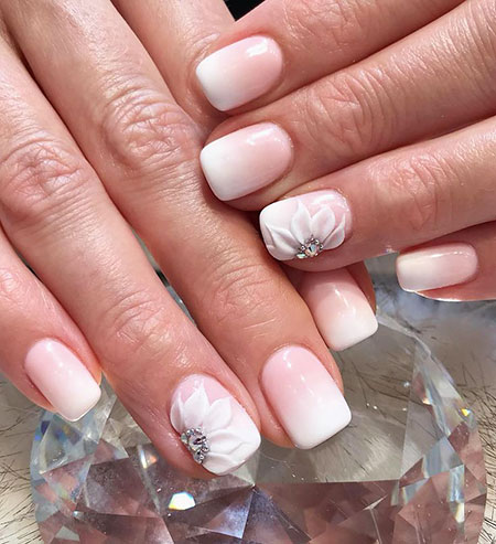 Flower Design, Nail Nails Manicure Designs