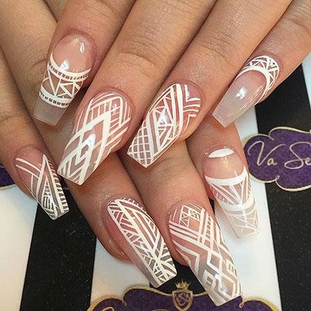 White Lines, Nail Nails Lines White