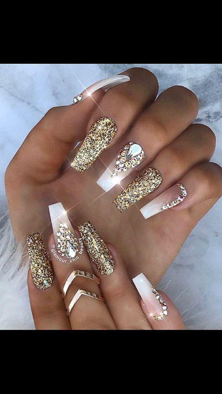 Nails Nail Glitter Designs