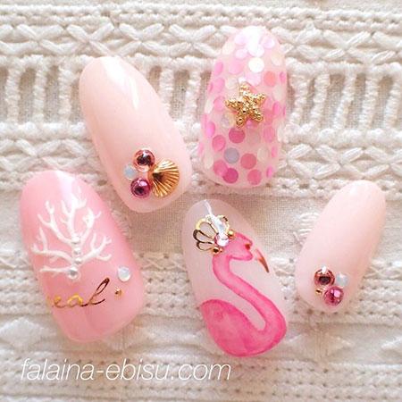 Nail Design Cute Pink
