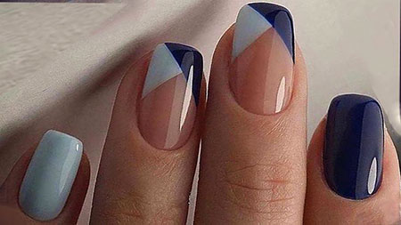 Geometric Nails, Nail Manicure Nails Top