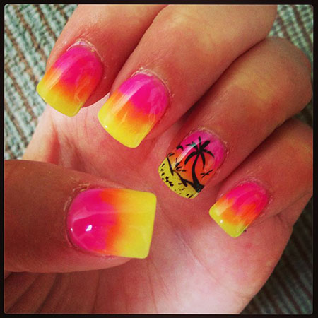 Summer Style Nails, Nail Nails Summer Designs