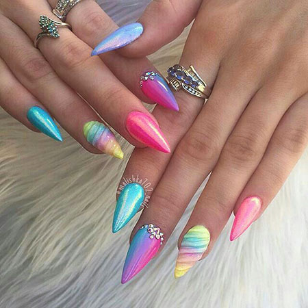 Nails Nail Designs Rainbow