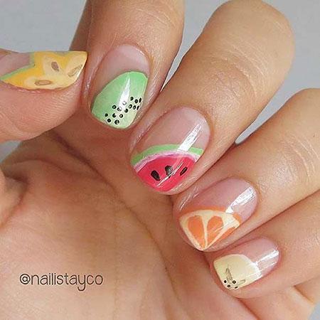 Nail Fruit Summer Nails