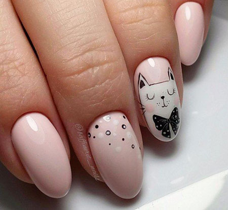 Nail Manicure Nails Cat