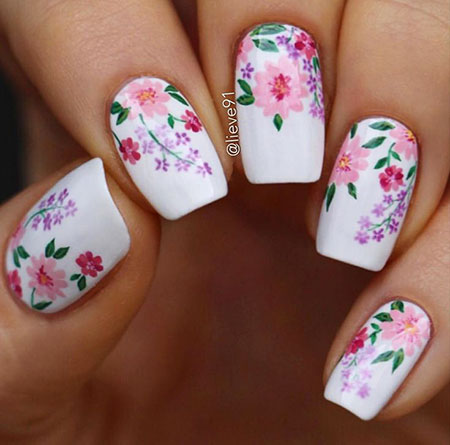 Nail Art Nails Flower