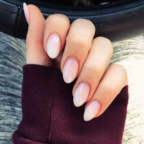 Short Oval Nail Designs-14