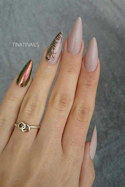 Long Stiletto Nail Arts-19