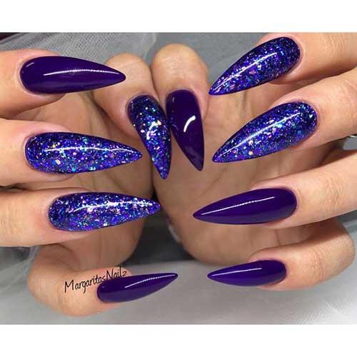 Long Stiletto Nail Arts-7