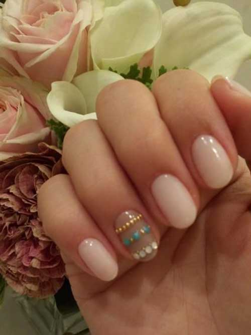 Short Oval Nail Designs-9