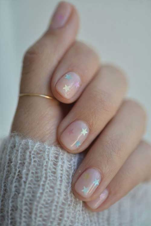 Short Oval Nail Designs