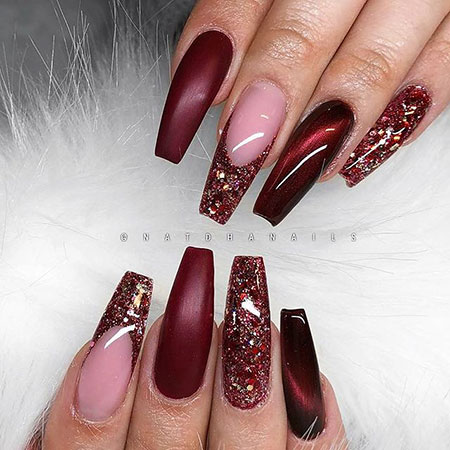 Nails Nail Red Coffin