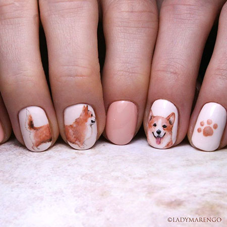 Nail Dog Manicure Nails