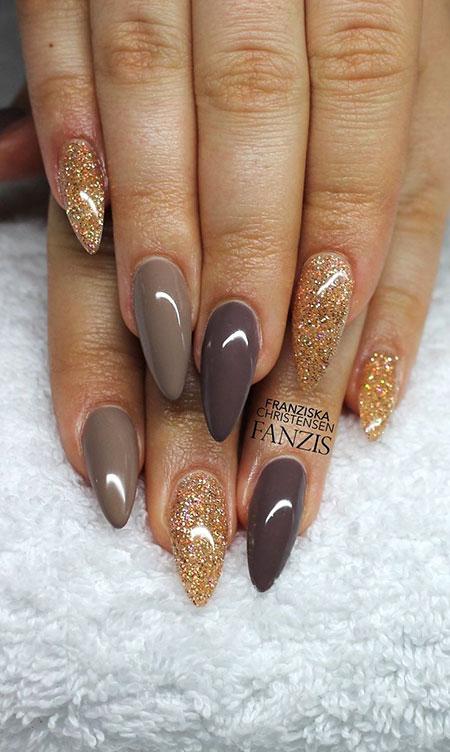 Nail Fall Manicure Nails