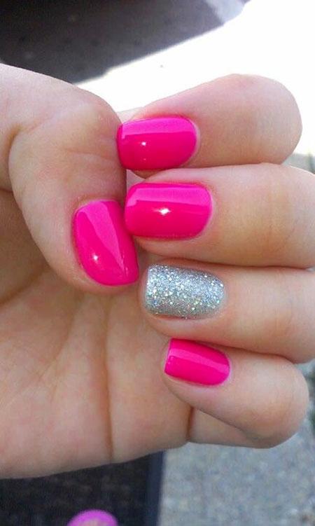 Pink Nail Nails Polish