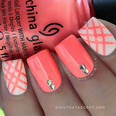 Designs Nail Summer Neon