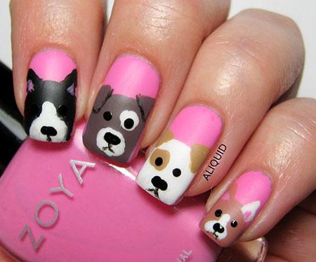 Dog Nail Nails Dots