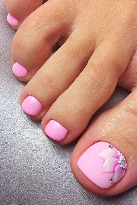 Toe Nail Designs Manicure