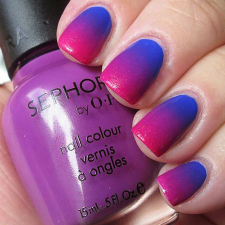 15 Pink Purple Blue Ombre Nails 330 Nail Art Designs 2020,Modern Minimalist House Design Ideas