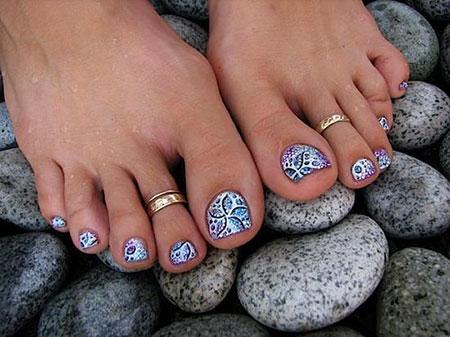 Nail Toe Pretty Pedicure