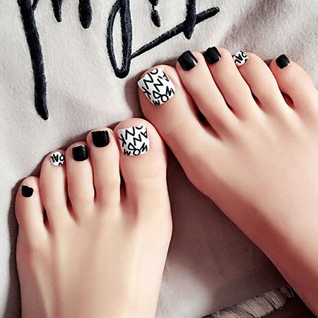 Toe Nail Fake Designs