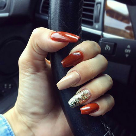 Nails Nail Fall Acrylic