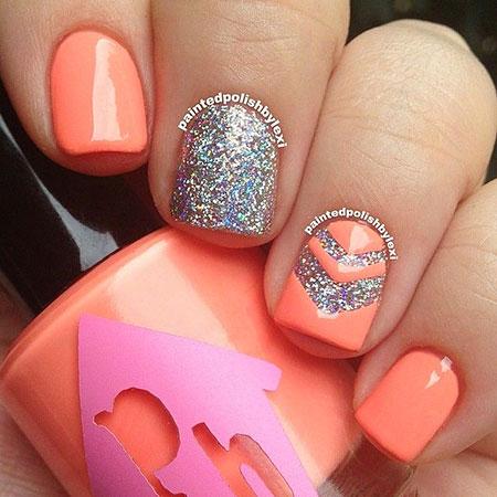Nail Coral Designs Art
