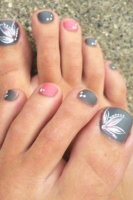 Toe Nail Designs New