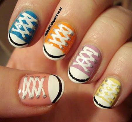 Nails Nail Converse Short