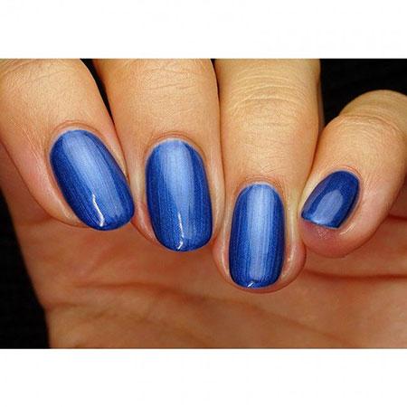 Polish Blue Nail Gel