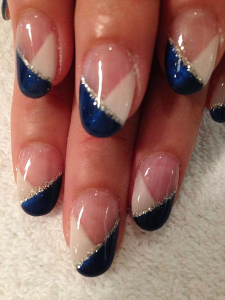 Nails Nail Blue Royal