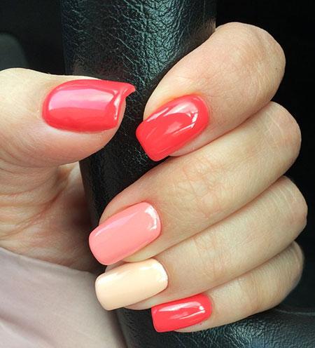 Nail Coral Nails Polish