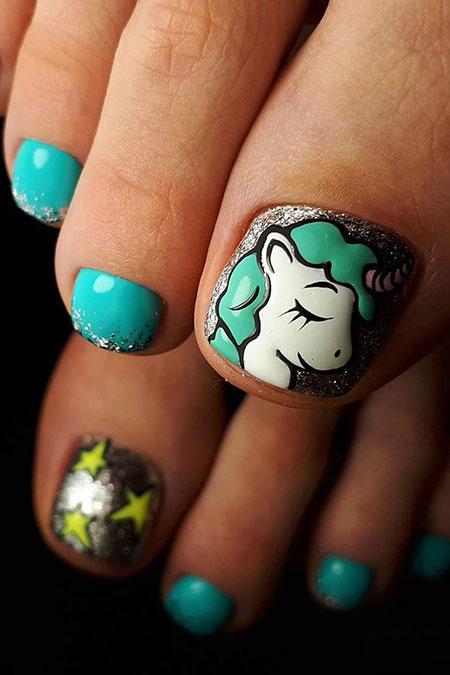 Nail Art Fun Toe