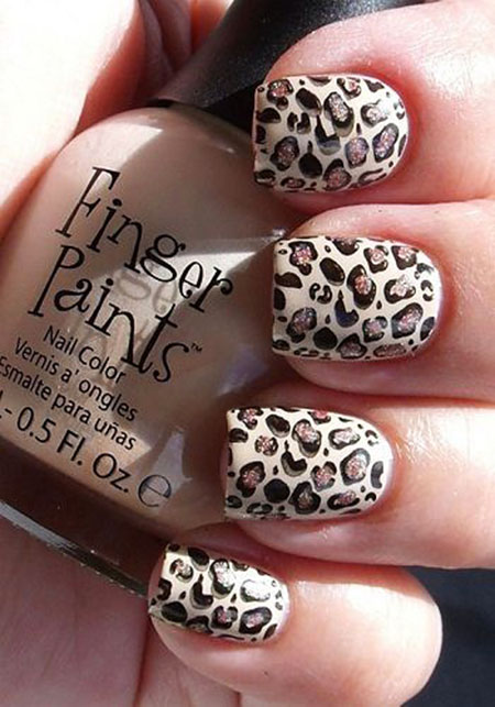 Nail Simple Nails Leopard
