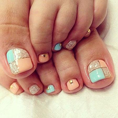 Nail Toe Art Designs
