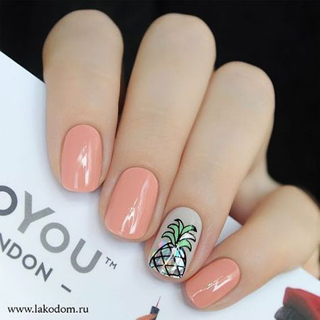 Pink Short Nail Style, Nail Nails Manicure But