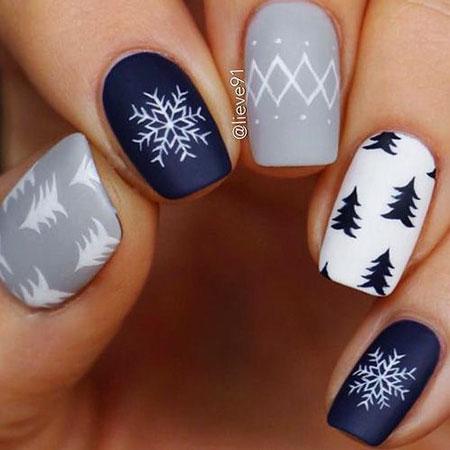 Simple Winter Nails, Nail Nails Winter Very