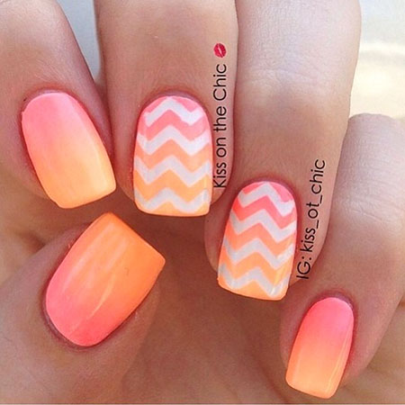 Cute Ombre Nails Summer, Nail Summer Nails Designs