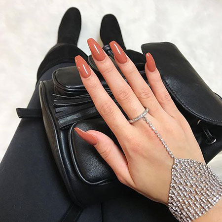 Winter Nail Fashion, Nails Nail Popular Acrylic