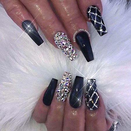 Nails Coffin Nail Long