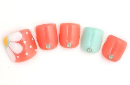Nail Cute Toe Design