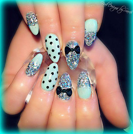 Nail Nails Mint Cool