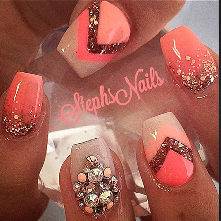 Nail Coral Nails Stephsnails