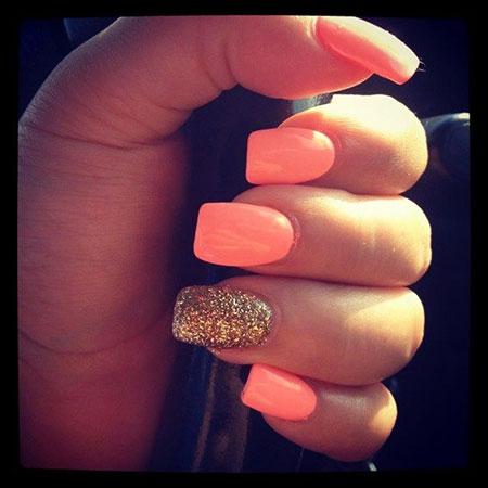 Nail Nails Summer Glitter